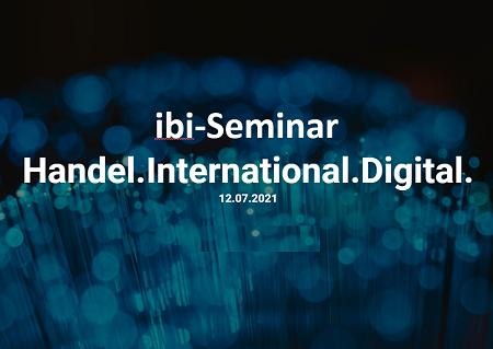 """""""Handel. International. Digital."""""""